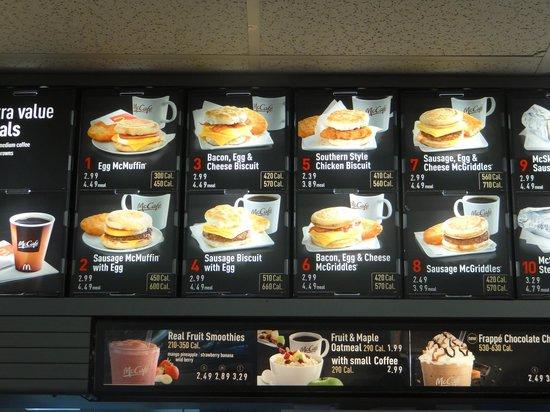 McDonald's: bon petit déj