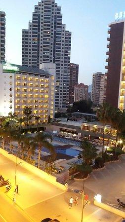 Hotel Ambassador Playa: Looking over the rosamar