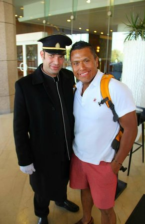InterContinental David Tel Aviv : Yani the Doorman is the BEST!