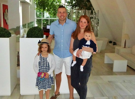 Aparthotel Rosa del Mar: Happy Family