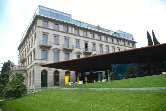 Lido Palace : Restaurant und Pool in modernem Flügel