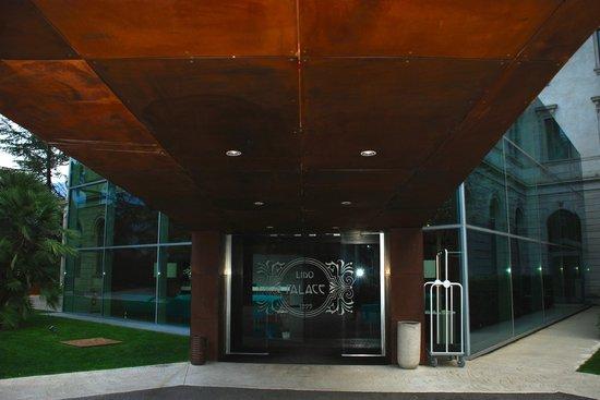 Lido Palace : Hotel-Eingang