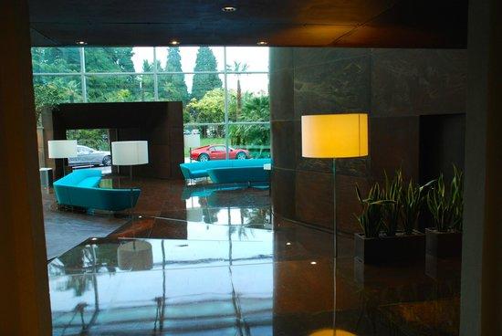Lido Palace : Modernes Foyer