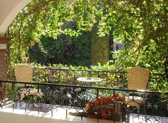 La Casa de Mis Recuerdos B&B: Mamey room terrace