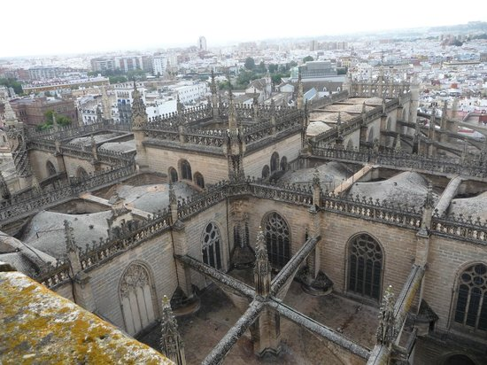 Torre Giralda : Vue cathédrale