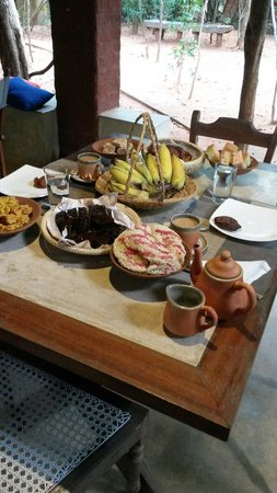 Back of Beyond - Pidurangala: We were treated to a large selection of New Year cakes!