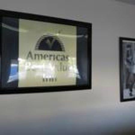 Americas Best Value Inn Las Vegas: Front desk