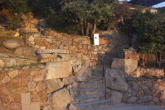 Residence Belvedere de Palombaggia : Accès à notre mini-villa