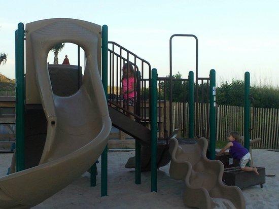 Seaspray Condominiums: Part of the playground area