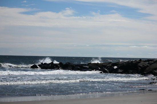 North Wildwood Beach: Hereford Inlet and Atlantic Ocean - North Wildwood