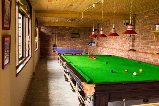 Mahasu House: Play area had all sorts of games