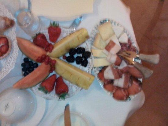 La Celestina B&B : dettaglio breakfast