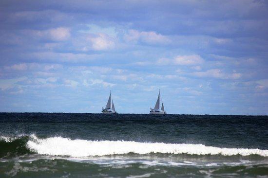 view of ocean from north wildwood beach