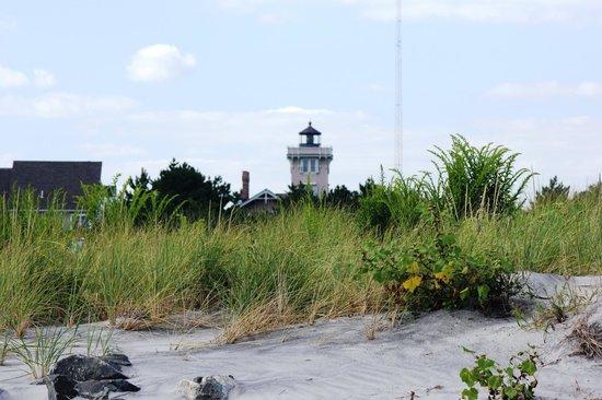North Wildwood Beach: Hereford Inlet Lighthouse - North Wildwood NJ
