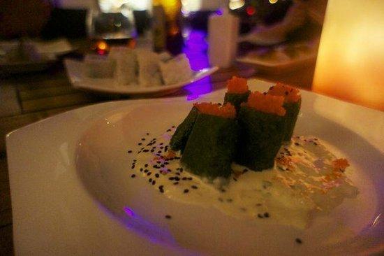Nicksan Nuevo Vallarta : Crab, habenero in mustard sauce