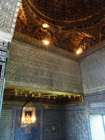 Casa de Pilatos: Plafond et azulejos