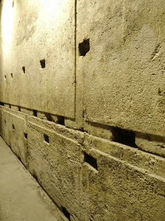 The Western Wall Tunnels: Megaliths forming the northern part of the Western Wall