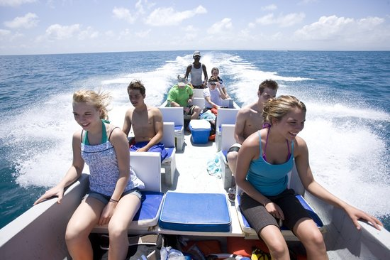 Belizean Dreams Resort: Boat  trip time!!!