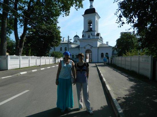 Saint Euphrosyne Monastery: Вид центрального входа