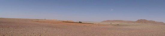 Hotel Kasbah Mohayut : l'immensité du désert