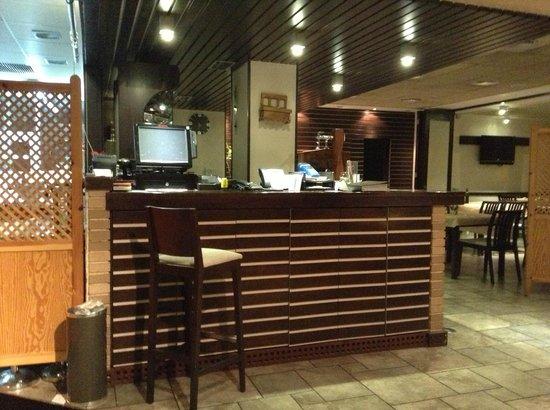 Hotel Arco de San Juan: recepção ás 6:am