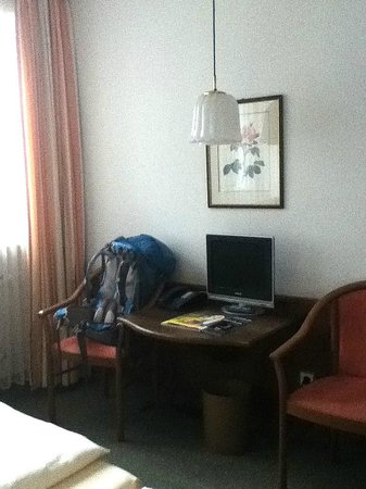 Hotel Blauer Bock : The room