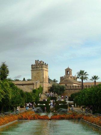 Alcazar de los Reyes Cristianos: Vue depuis les jardins