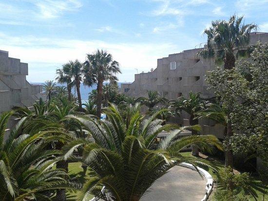 Annapurna Hotel Tenerife: widok z balkonu