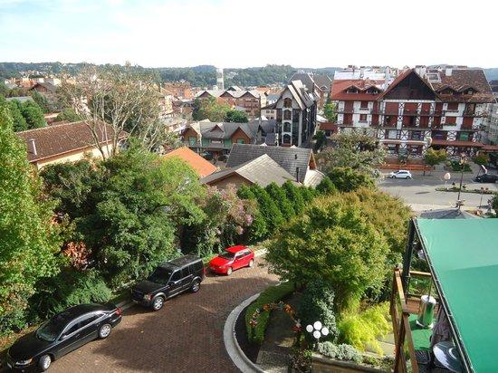 Hotel Casa da Montanha: vista para a avenida Borges de Medeiros