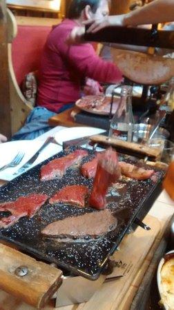 La Calèche: Raclette