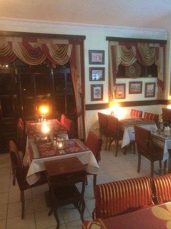 Circus Restaurant: comfortable interior