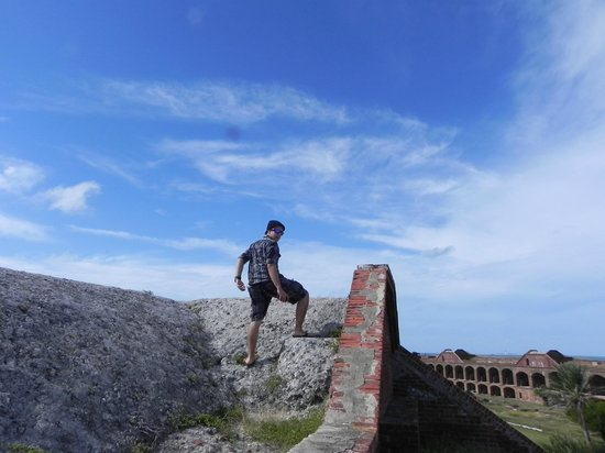 Dry Tortugas National Park: on top