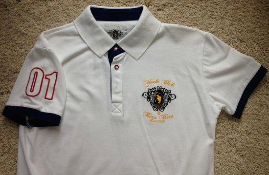Bora Bora Yacht Club : Front of polo shirt