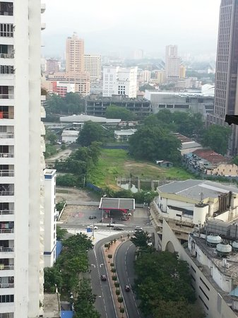 Silka Maytower Kuala Lumpur : View from room
