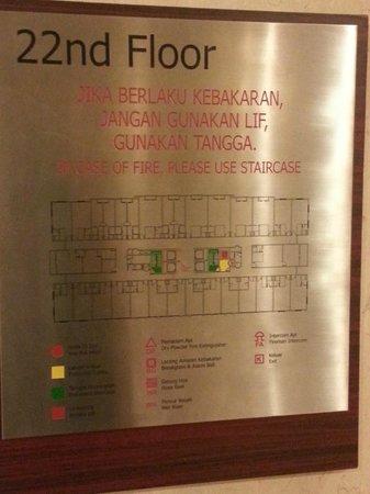 Silka Maytower Kuala Lumpur : Level 22