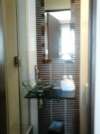 Hotel Convention Montparnasse: Salle de bain (douche)