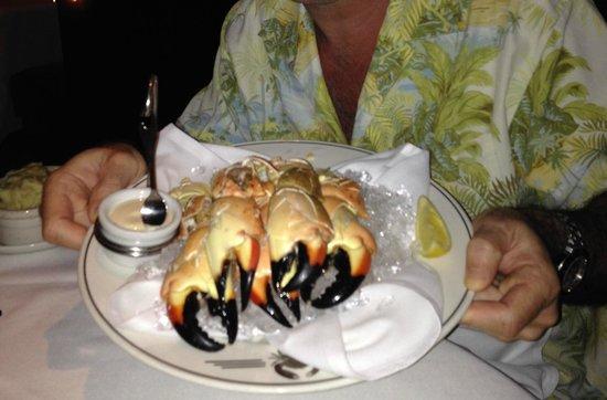 Truluck's Restaurant : My $79 Stone Crab - Cha Ching!