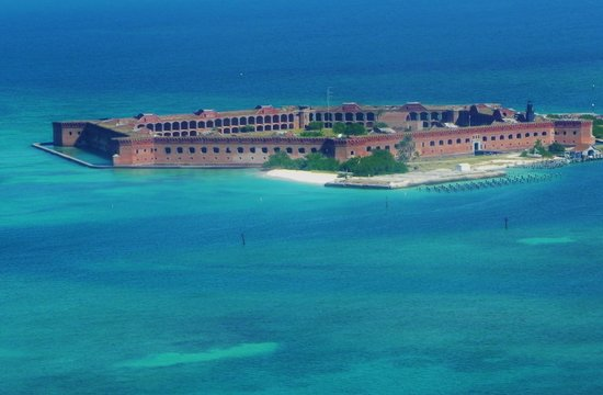 Key West Seaplane Adventures: Fort Jefferson
