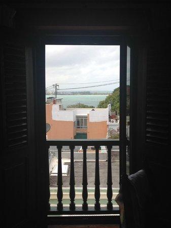 Hotel El Convento: View from room