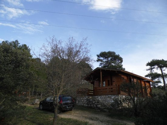 Cabañas Llano de los Conejos: Exterior de la cabaña