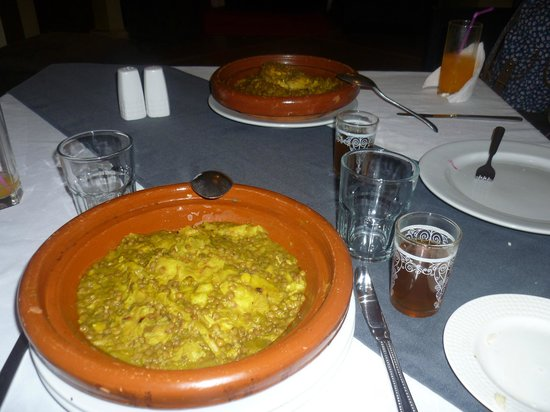 Kasbah Caracalla: The food was very nice