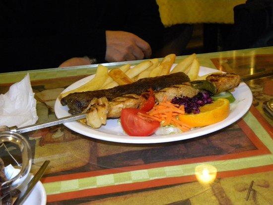 Oriental Grill: Kebab e spiedino