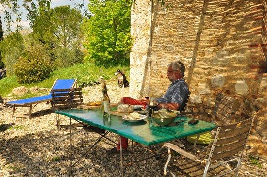 Az. Agricola Casina di Cornia: Terrasse de Casina