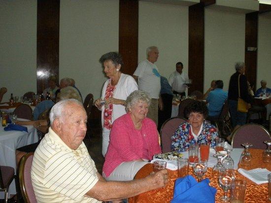 El Bar del Patio: Reception Dinner 6th Floor Balmoral Hotel, San Jose, Costa Rica
