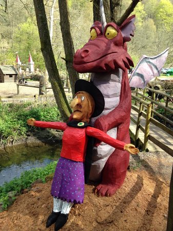 """Dean Heritage Centre: The dragon drew back and he started to shake, """"I'm sorry"""" he muttered, """"I made a mistake. It's n"""