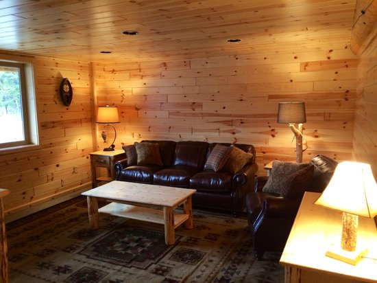 The Cabins at Rock Creek: Recreation room in Stony Creek Lodge