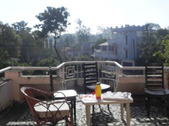 Deer Park Eco Home: open terrace