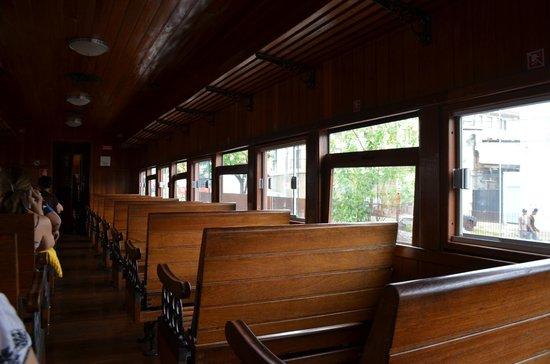 Trem da Vale – Ouro Preto e Mariana: Segunda classe - sensacional