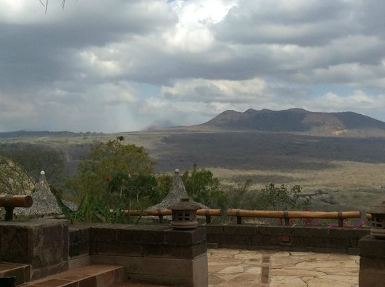 Hacienda Puerta Del Cielo Eco Spa: I could sit and watch the ever-changing sky all day