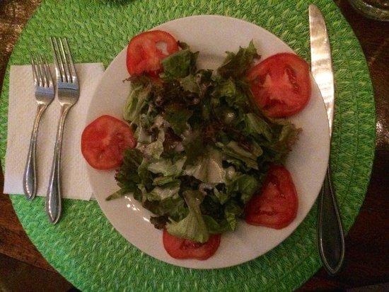 Hacienda Puerta Del Cielo Eco Spa: refreshing salad